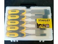 Brand new set of Stanley Chisels £25