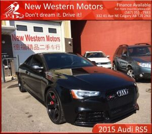 2015 Audi RS 5 Mythos Black No Accident One Owner!