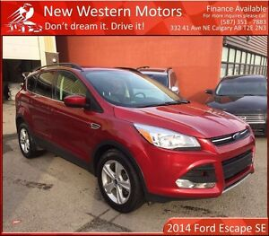2014 Ford Escape SE B.CAM! HEATED SEATS! EXTRA TIRES!