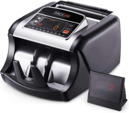 Tacklife MMC01 Money Counting Machine, LED Display, UV/MG/IR Detection