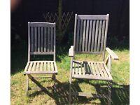 Westminster Teak Garden table an chairs