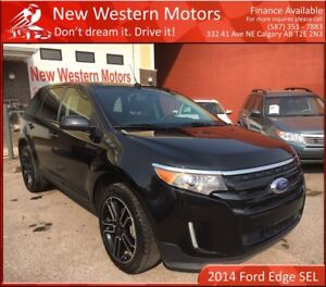 2014 Ford Edge SEL! B.CAM! PANO ROOF!! HEATED SEATS!