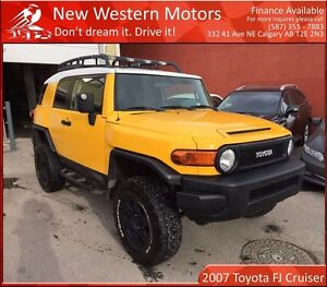 2007 Toyota FJ Cruiser LIFTED! PACKAGE C! LOW KM! DVD!