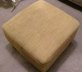 Ikea footstool (brown)