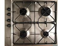 Neff gas hob - 4 ring stainless steel