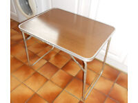 Folding Camping Table, Also Ideal for Car Boot Sale
