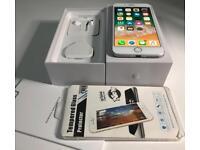 iphone 8plus 64GB white colour, lock on Vodafone, lebara UK network!