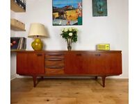 Greaves and Thomas Mid-Century Modern Vintage Retro Teak Sideboard by FREE LOCAL DELIVERY