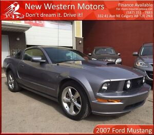 2007 Ford Mustang GT V8 ONE OWNER! HAIL SALE! HEATED LEATHER!