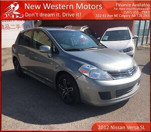 2012 Nissan Versa SL!! ACCIDENT FREE!!! SUNROOF!!!
