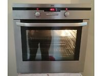 In Bideford an AEG Energy 'A' Rated (Integrated) Self Cleaning Fan Assisted Oven & Grill