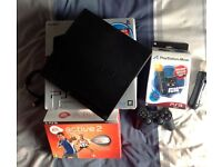 Playstation 3 (320gb) 8 Games, Eye Move and Fitness pack