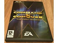 Command and Conquer - The First Decade (12 Games in 1!) PC DVD-Rom - Excellent Condition