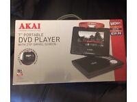 AKAI PORTABLE DVD PLAYER