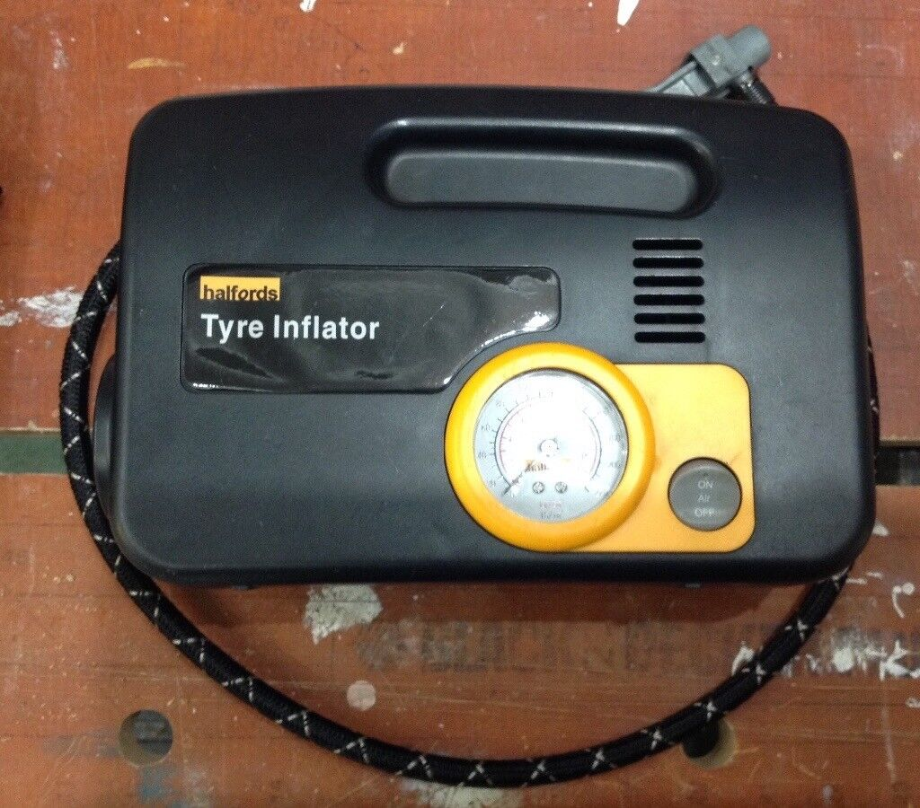 Halfords Tyre Inflator