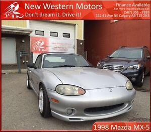 1998 Mazda MX-5 Miata Roadster JDM!