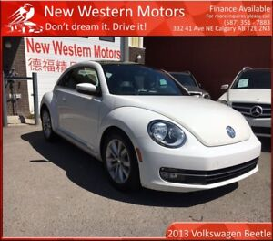 2013 Volkswagen Beetle 1 OWNER! ACCIDENT FREE! SUNROOF! HEATED S