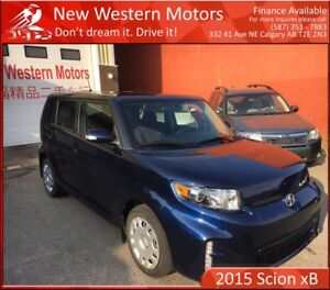 2015 Scion xB ACCIDENT FREE!!! B.CAM!!! GREAT COMMUTER CAR!!