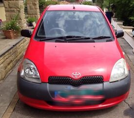 Toyota yaris 1 litre, 12 months m.o.t, full history, 2 keys, cheap tax insurance,