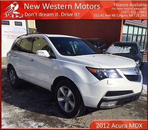 2012 Acura MDX SH-AWD B.CAM! 7 SEATS! HEATED LEATHER!