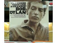 Brand new n sealed Bob Dylan – The Times They Are A-Changin', reissued on 180 gram vinyl Rock Folk