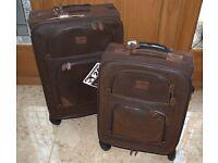 2 X Kangol 4 Wheel Suitcases