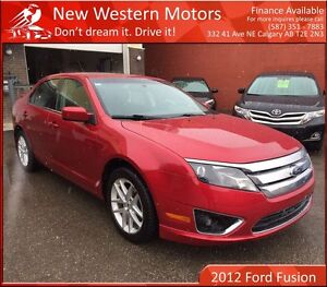 2012 Ford Fusion SEL ACCIDENT FREE! LOW KM! REAR CAM! AWD!