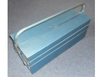 Long Metal Cantilever Tool Box