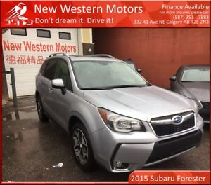 2015 Subaru Forester 2.0XT Touring!! NO ACCIDENT!! FULLY LOADED!