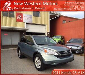 2011 Honda CR-V LX MINOR HAIL MAJOR SAVINGS! AWD!