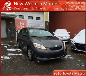 2010 Toyota Matrix MINOR HAIL MAJOR SAVINGS! LOW KM!