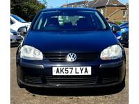 Volkswagen Golf mk5, manual, 1.9 TDi, good condition, with extras. 2008