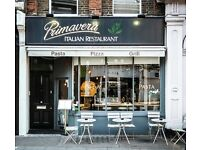 *** EXPERIENCED PIZZA & PASTA CHEF REQUIRED URGENTLY, SW6 4LY ***