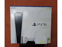 Sony PS5 Disc Edition Console New and Warranty Genuine Seller