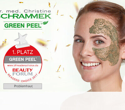 GreenPeel Kräuterschälkur Behandlung Dr. Schrammek, Hauterneuerung, Naturprodukt