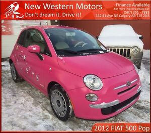 2012 Fiat 500 Pop PAID FOR REFUGEE'S CEREBRAL PALSY SURGERY!