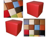 NEW Great square puff 30x30cm stool footstool hoker