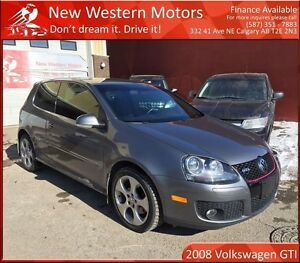 2008 Volkswagen GTI 3-Door 1 YEAR WARRANTY! LOW KM! SUNROOF!