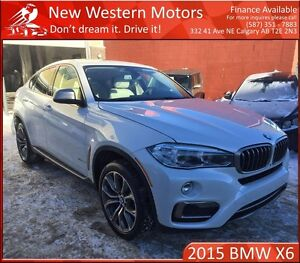 2015 BMW X6 xDrive35i FULLY LOADED! SURROUNDING CAMERAS!