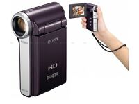 Sony HD video camera + Case and Travel Bag