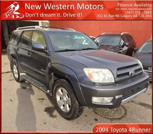 2004 Toyota 4Runner Limited V6 LIGHT HAIL/HEATED LEATHER SEATS