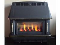 Robinson Willey Firecharm 3.52 KW Gas Fire (Matt Black)
