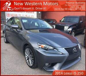 2014 Lexus IS 250 1 OWNER!! B.CAM!! AWD!!! LOW KM!!!