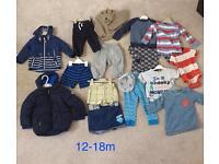 Baby boys clothes bundle 12-18m