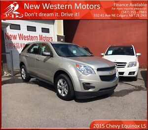 2015 Chevrolet Equinox LS! Light Hail!! LOW LOW KM!!
