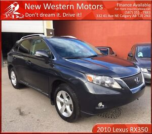 2010 Lexus RX 350 ONE OWNER! BCAM! SUNROOF! HEATED LEATHER!