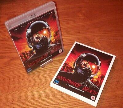 NIGHTMARE BEACH Blu-ray UK vrsn 88 Films region b (rare OOP slipcover slipcase)