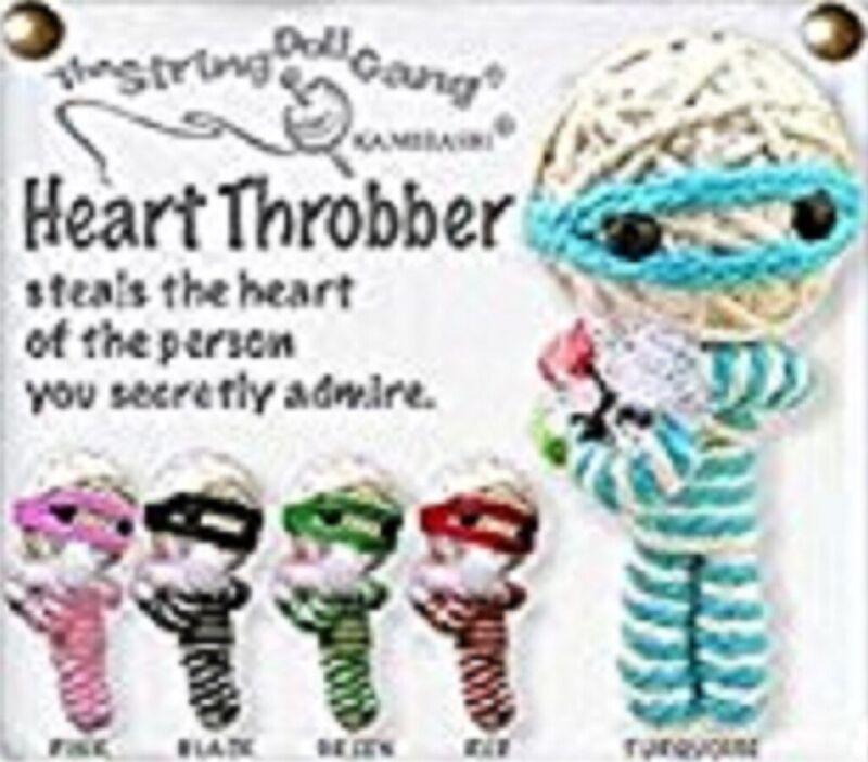 Kamibashi Heart Throbber The Original String Doll Gang Handmade Keychain Toy ...