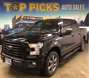 2017 Ford F-150 XLT Sport, 302A, Accident Free & Certified!