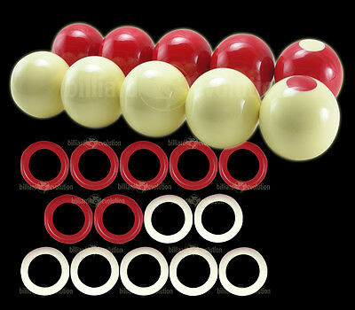 "New Genuine Aramith Beigian 2 1//8/"" Bumper Pool Ball Set Free Shipping ARBP"
